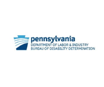 PA Department of Labor & Industry, Bureau of Disability Determination